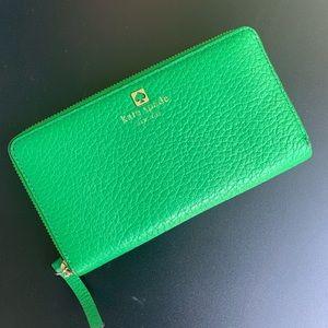 Kate Spade - Green Wallet